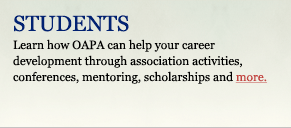Learn about PA program activities, conferences, scholarships, and more...